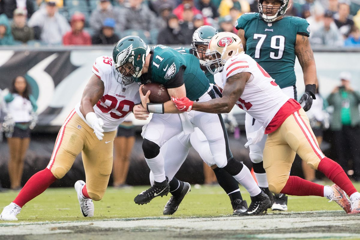 49ers Eagles Third Quarter Score Updates Niners Nation