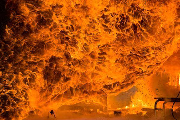 Huge House Fire