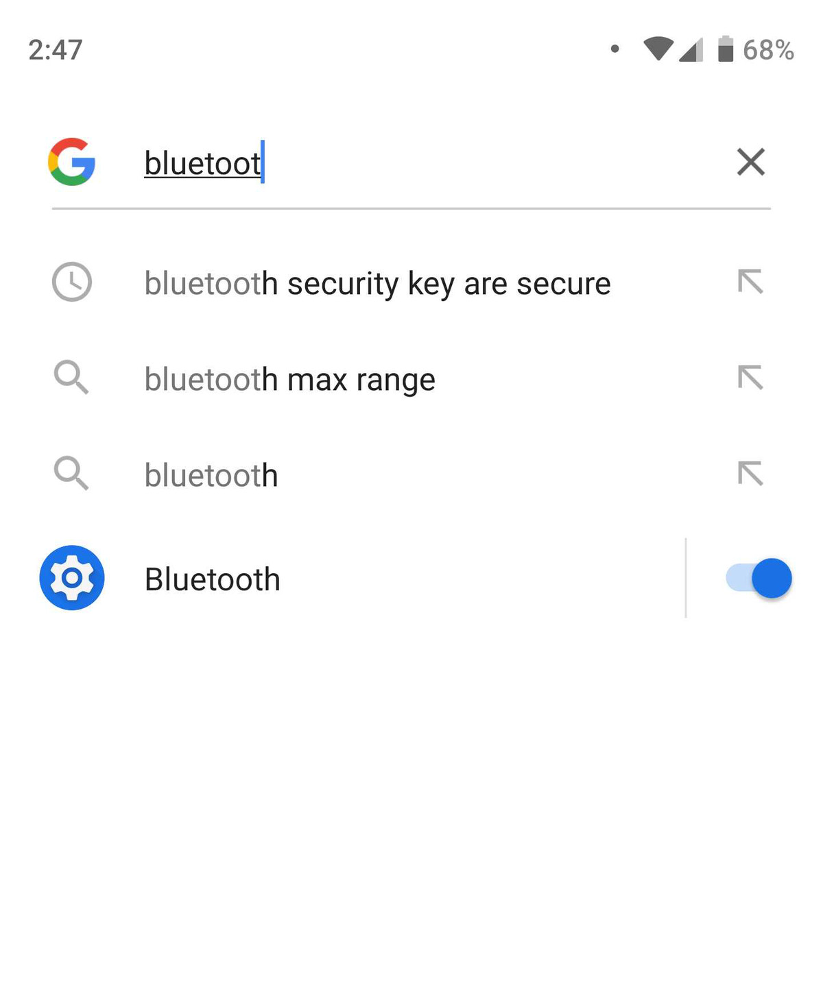 android pie bluetooth