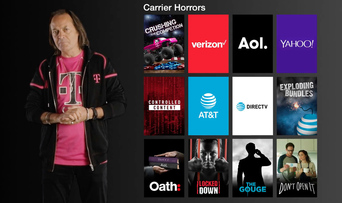 T-Mobile's unlimited data family plans now include free