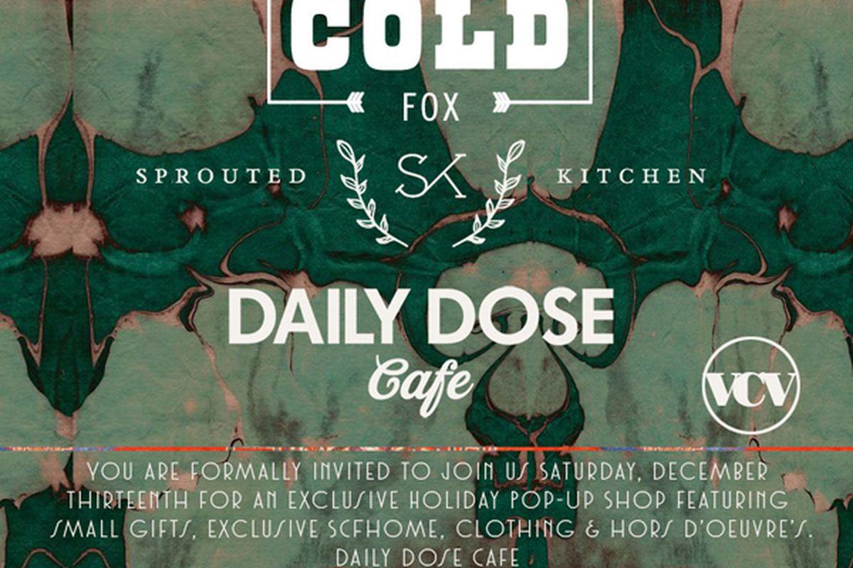 Flyer via Stone Cold Fox