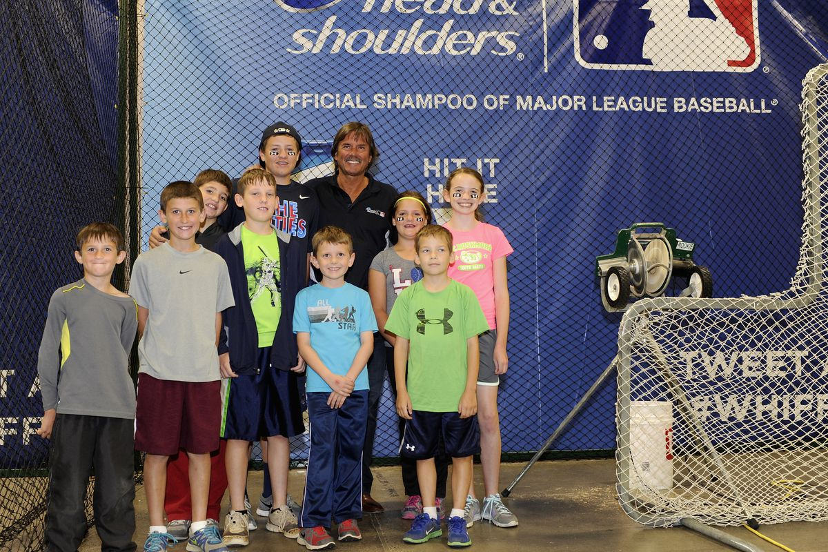 Dennis Eckersley Supports Head & Shoulders 'Season of the #Whiff' Program Benefiting The Reviving Baseball In Inner Cities (RBI) At The 2014 MLB All-Star Game