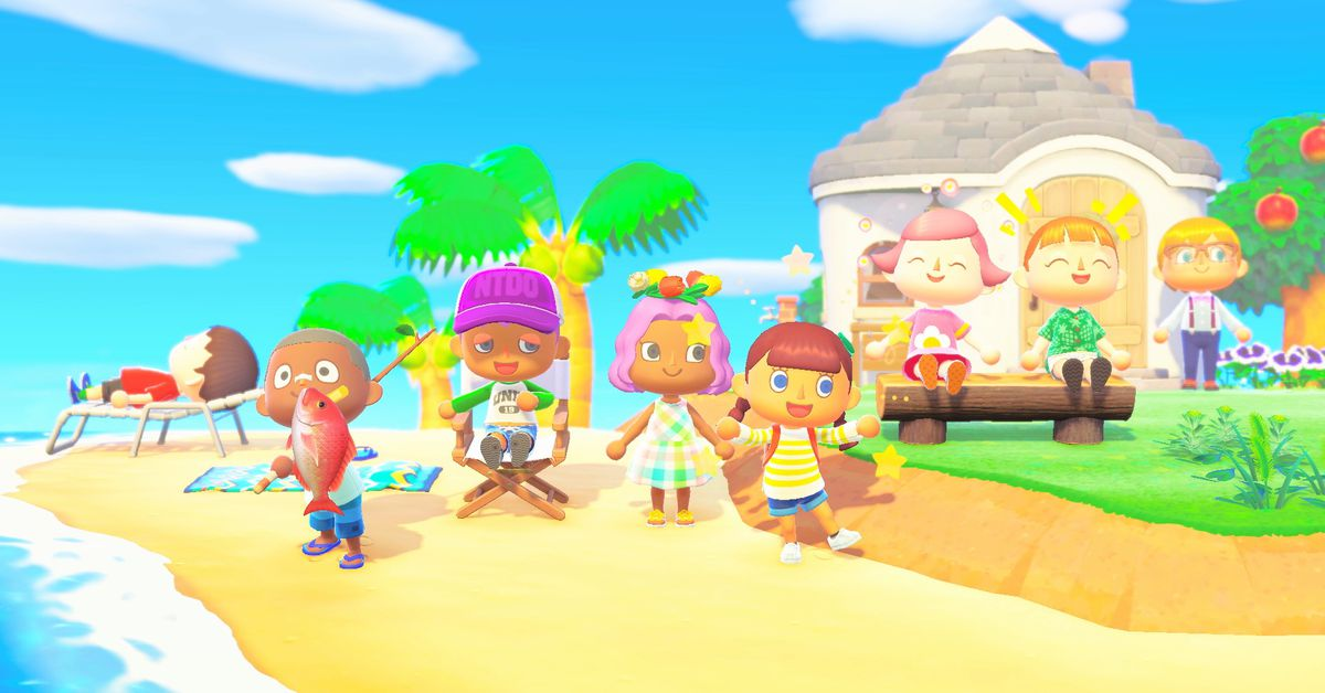 Watch the Animal Crossing: New Horizons Nintendo Direct here