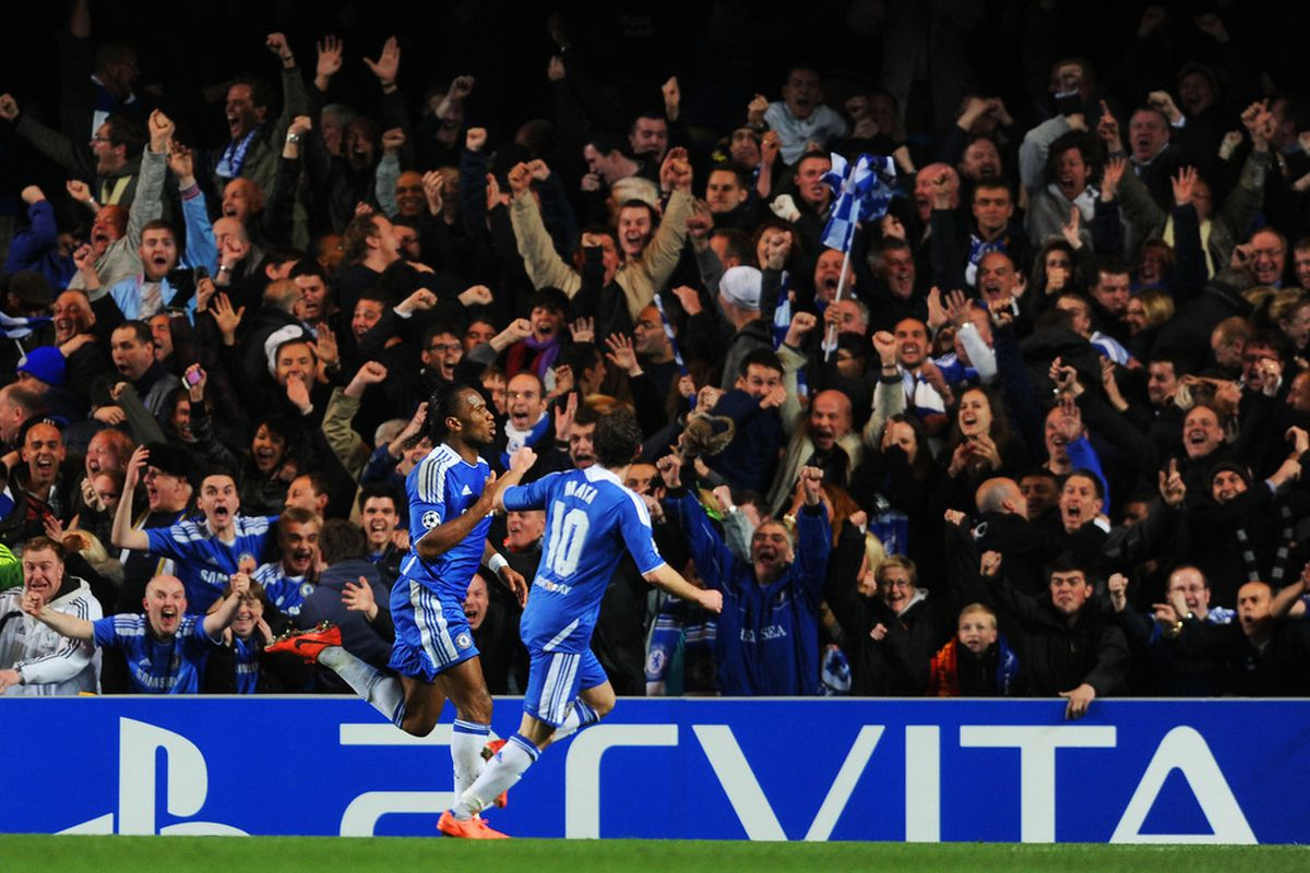 Chelsea Vs. Barcelona: Didier Drogba Wins It For The Blues ...