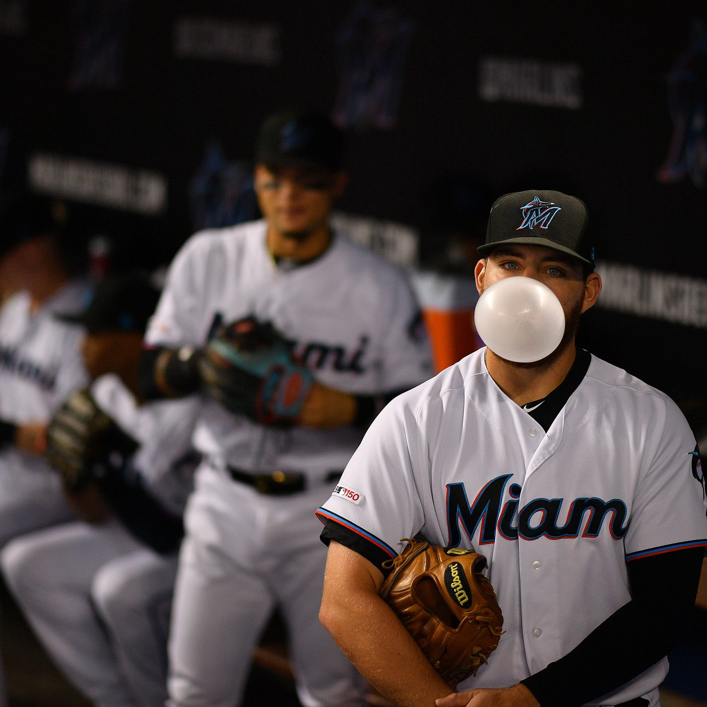 Marlins Outfielder Austin Dean Designated For Assignment Fish Stripes