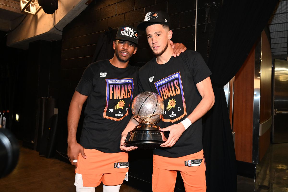 Nba Finals Mvp Odds 2021 Devin Booker Chris Paul Favorites To Win Award For Suns Draftkings Nation