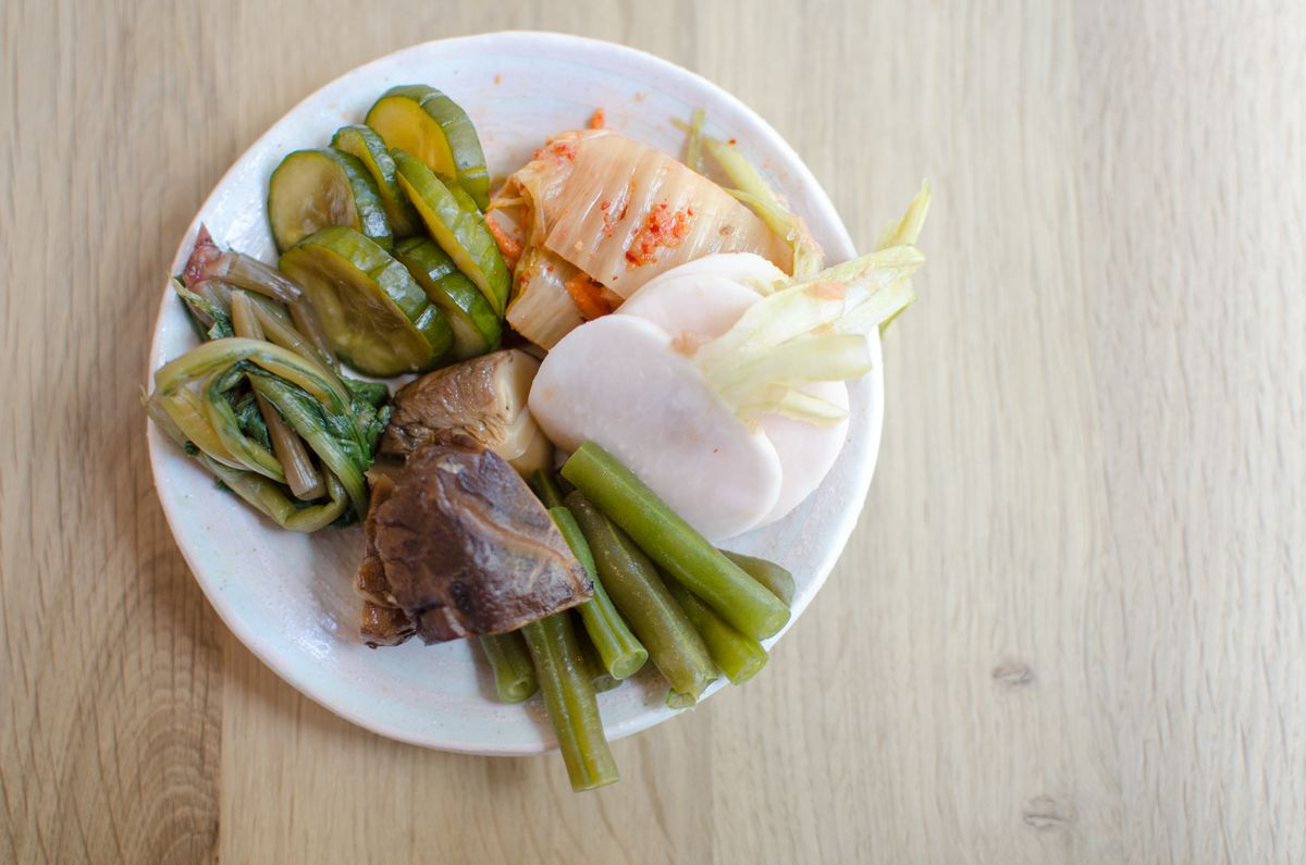 pickle plate at Whaling in Oklahoma