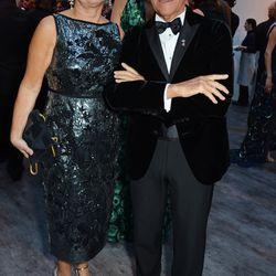 Alexandra Shulman and Giorgio Armani