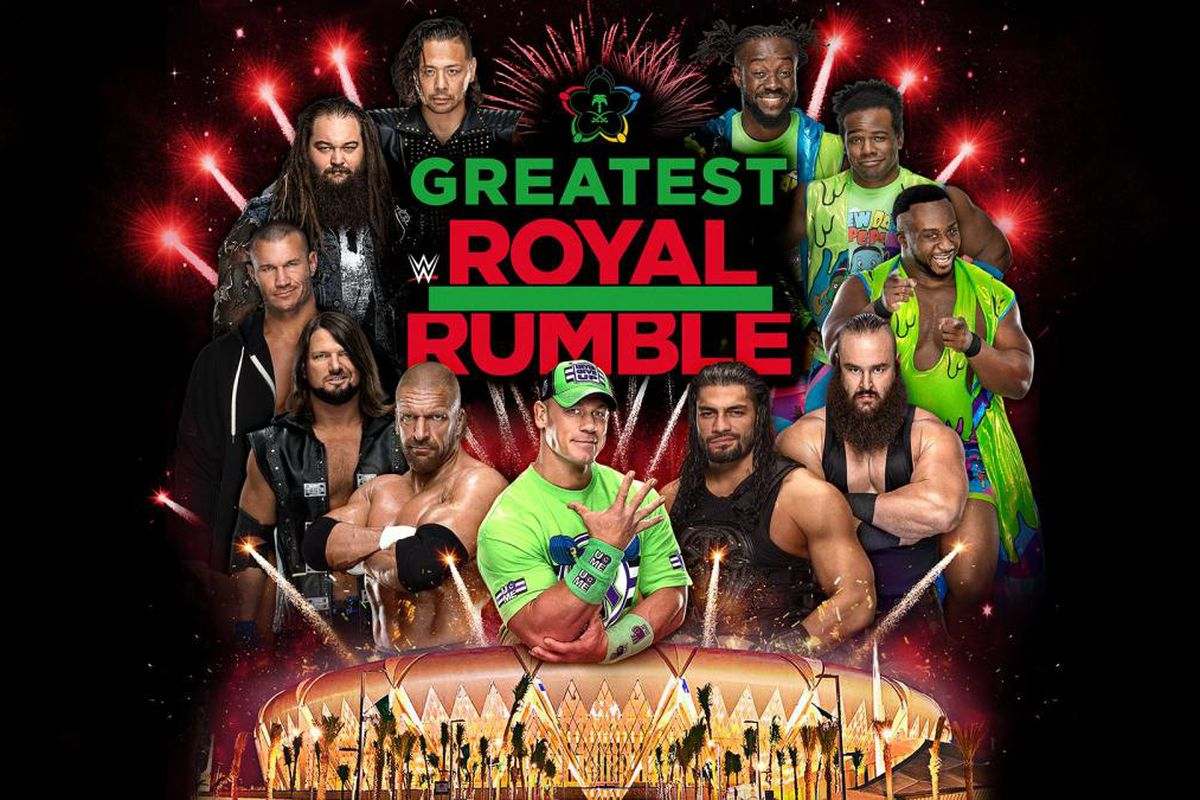 Greatest Royal Rumble Will Feature All 7 WWE Main Roster