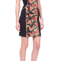 Jetsetter Neoprene Dress in multi, $175 (from $350)
