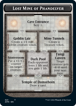 The Lost Mine of Phandelver ends with the Temple of Dumathoin, which allows players to draw a card.