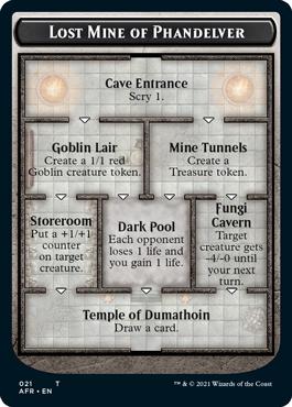 Mina pierdută a lui Phandelver se încheie cu Templul lui Dumathoin, care permite jucătorilor să tragă o carte.