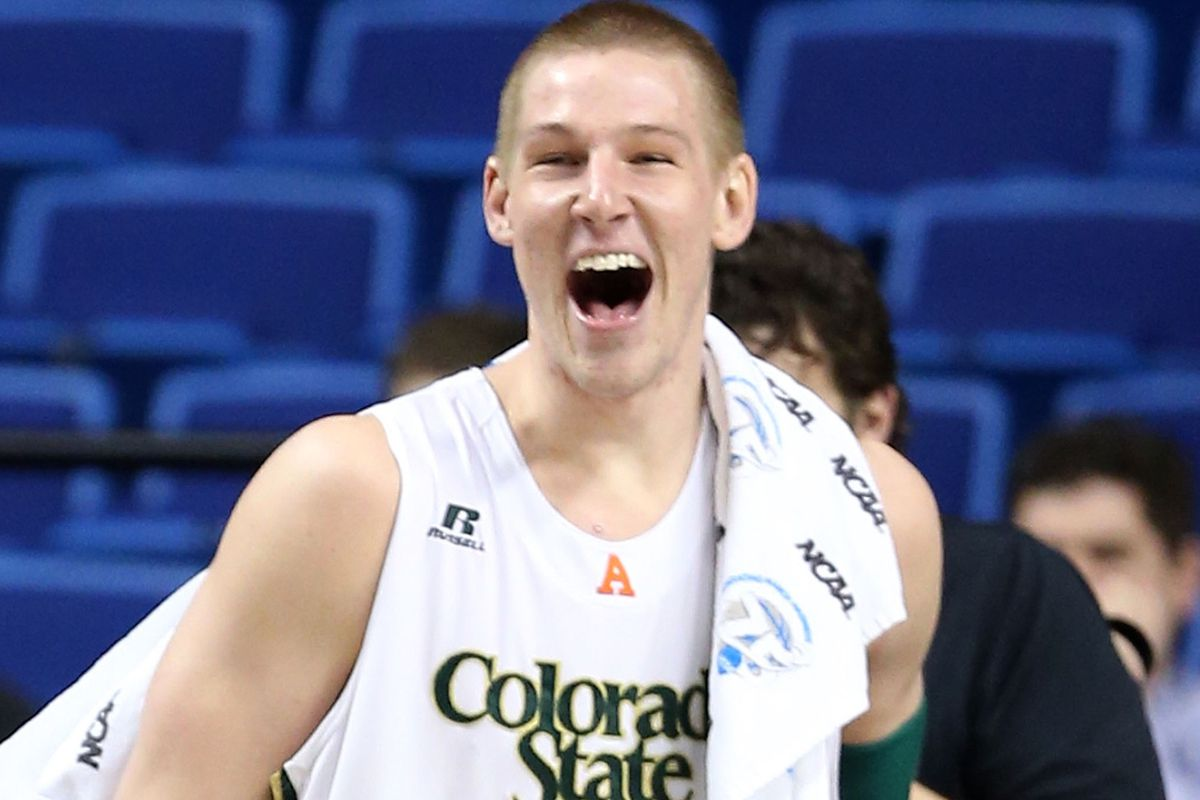 Colton Iverson is happy to be playing well in the summer league.