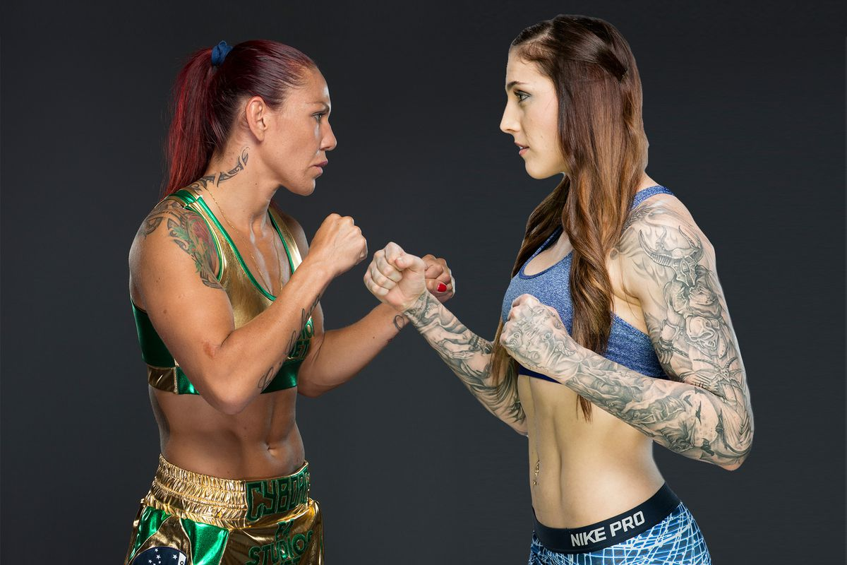 Image result for cyborg vs megan anderson
