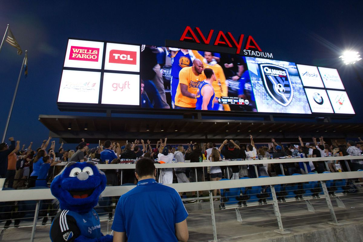 Golden State timed their Game 6 comeback win perfectly to show the final minutes during halftime of the Quakes 0-0 draw with Dallas.