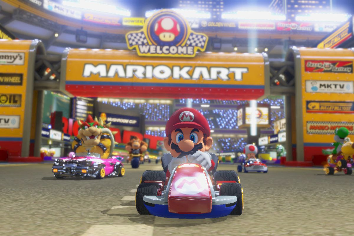 Mario Kart 8 Deluxe Makes The Game Steer For You By Default