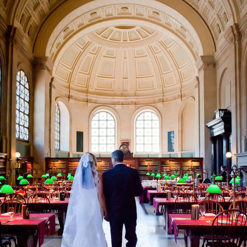 Boston Public Library Wedding: Say 'I Do' At These 15 Visually-Stunning Boston Wedding
