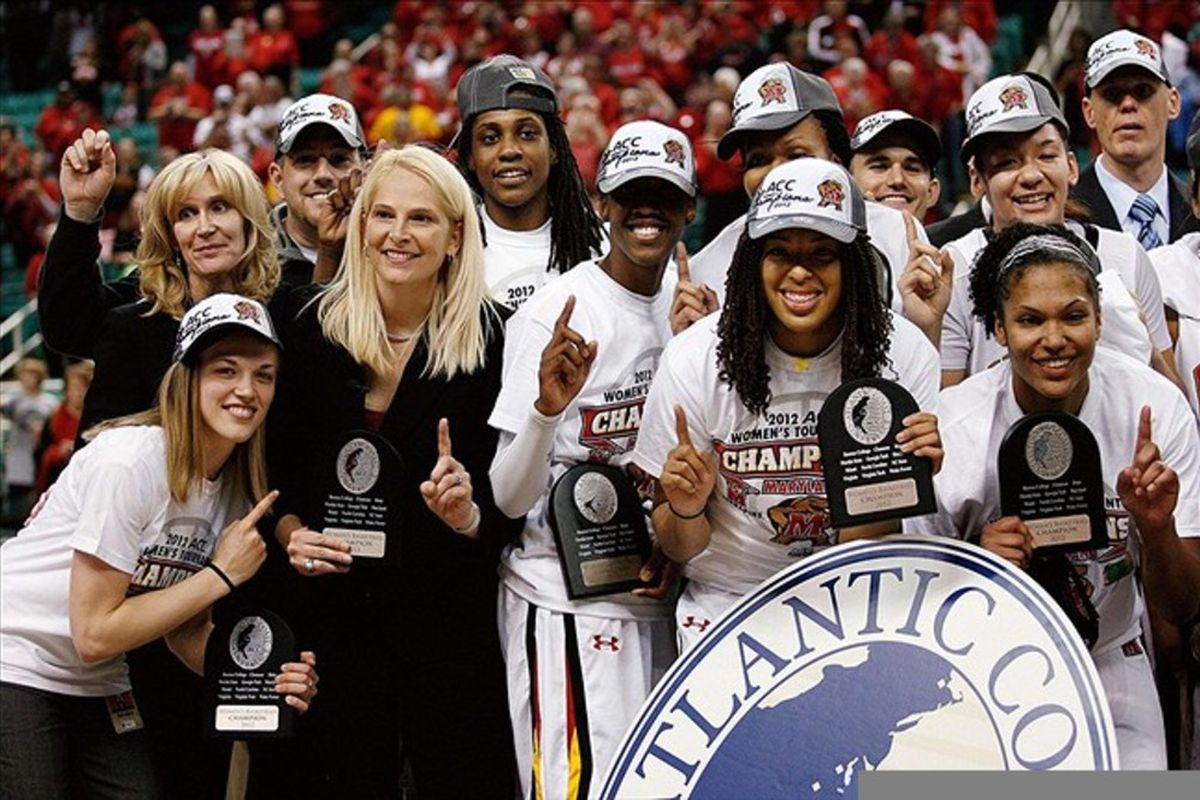 Will Maryland be celebrating in Greensboro again this year?