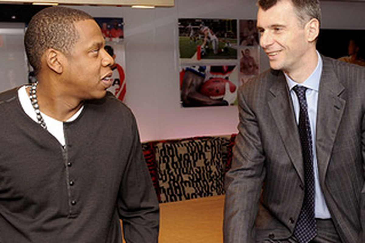 check out f3b0e de4b9 Revisiting Jay-Z, LeBron James, and the Nets' 2010 Free ...
