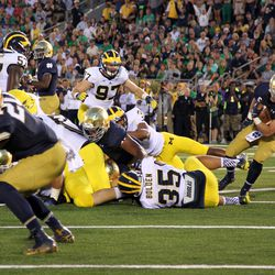 """Entire Michigan D: """"Hey, where'd he go?"""""""