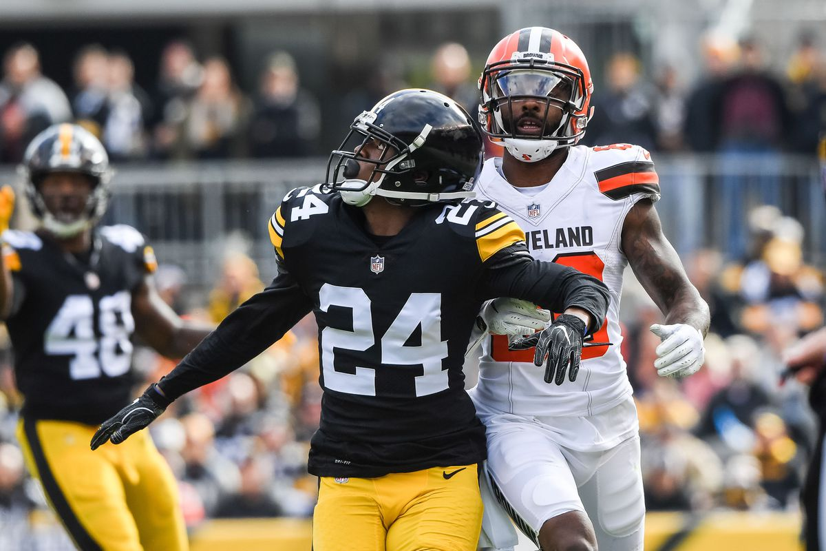7cc40c70e85 Steelers News  Coty Sensabaugh seems to have claimed the starting CB role  over Artie Burns