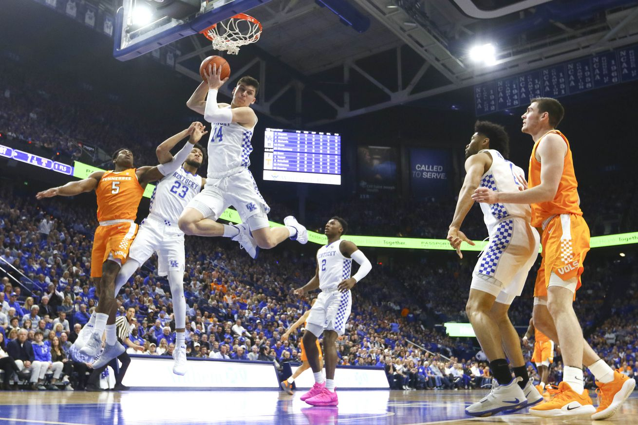 Kentucky dominated Tennessee at Rupp Arena just two weeks ago.