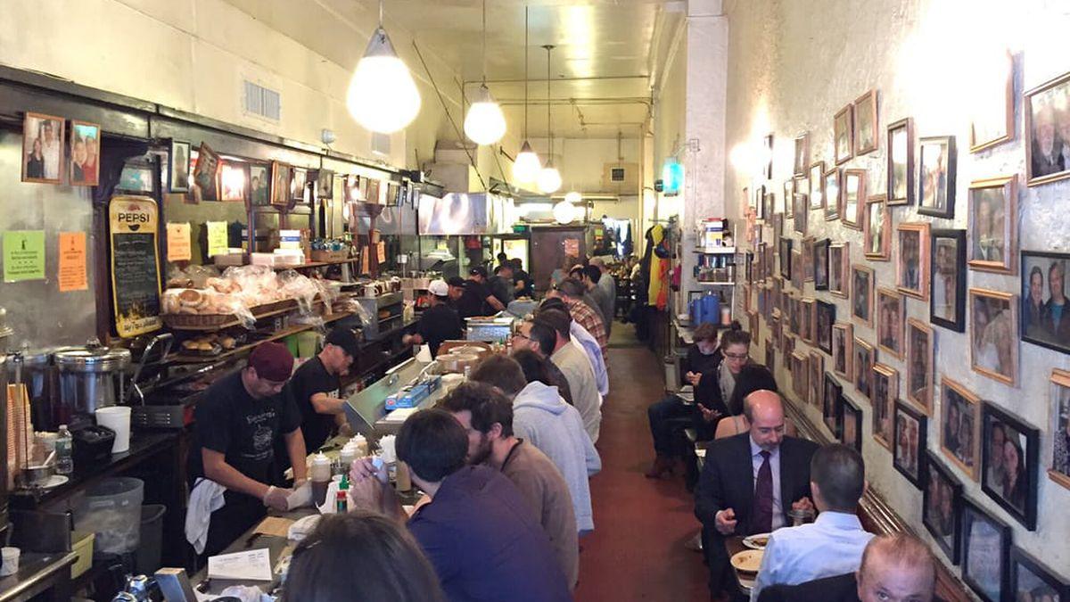 dd0b93ee2 Passed Down From Regular to Regular, 89-Year-Old Sandwich Shop Eisenberg's  Endures
