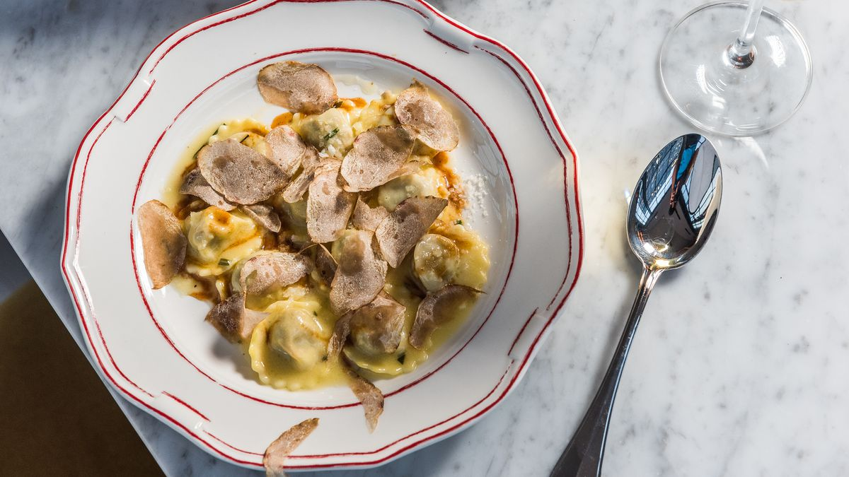 Veal ravioli from Officina