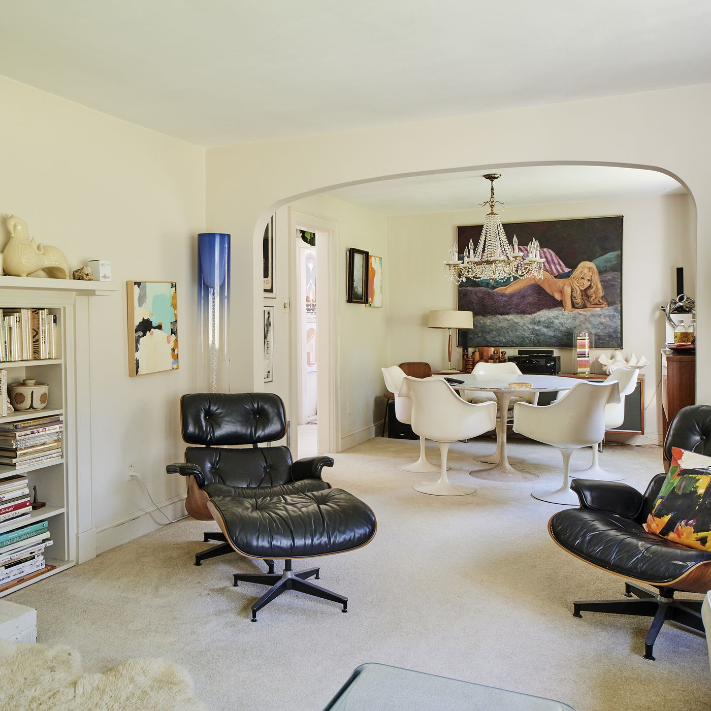 Inside Wary Meyers, a groovy live-work home carved from a classic ...