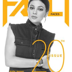 Kylie on the cover of Fault.