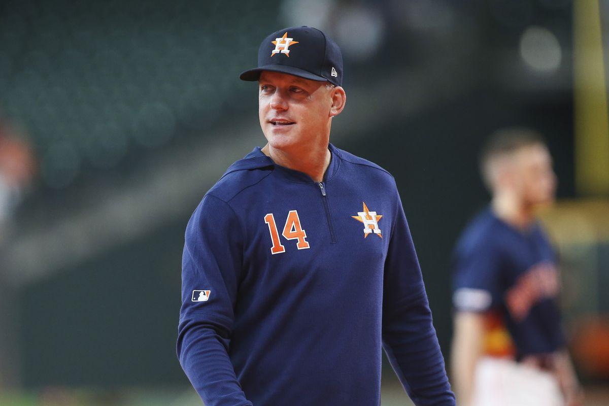 MLB: Oakland Athletics at Houston Astros