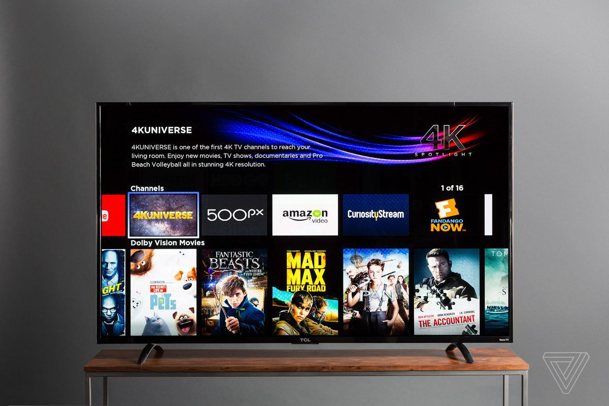 tcl has canceled the 50 and 65 inch models of its amazing budget 4k