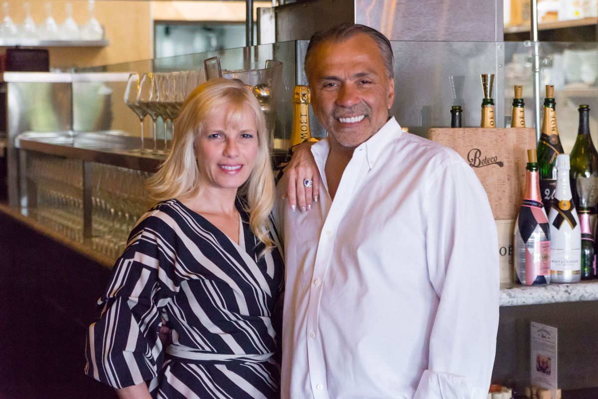 Boteco owners Alessandra and Marcus Fortunato
