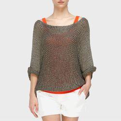 """<b>Vince</b> Knit Shirt-Tail Sweater, <a href=""""http://www.vince.com/sweaters/knit-shirt-tail-sweater/invt/vnv095774015/&bklist=icat,4,shop,women,wsweaters"""">$275</a>"""