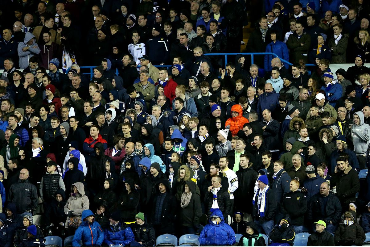 Finally the Fans had something to celebrate at Elland Road