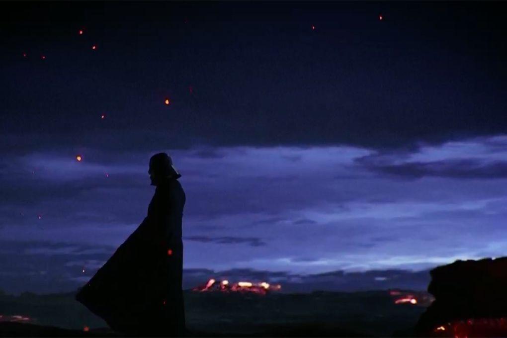 Darth Vader VR experience screencap