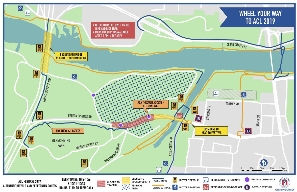 How to get to ACL Festival 2019—or avoid it - Curbed Austin Zilker Park Map on jj pickle research center map, mckinney falls state park map, dell diamond map, highland mall map, circuit of the americas map, san marcos map, piedmont park map, the pageant map, fair park map, madison square garden map, wisconsin state parks map, the national map, red rocks amphitheatre map, camp mabry map, edwards aquifer map, austin map, iroquois amphitheater map, lakeline mall map, stadium map,