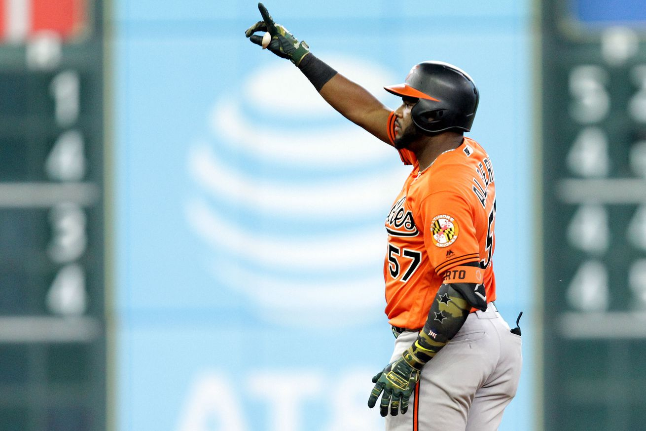 What should the Orioles make of Hanser Alberto?