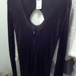 AWang ribbed sweater, $325 less 50%.