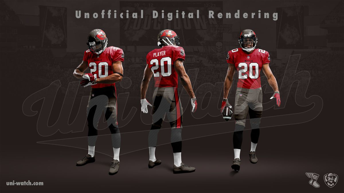 Reported First Look At Buccaneers New Uniforms Bucs Nation
