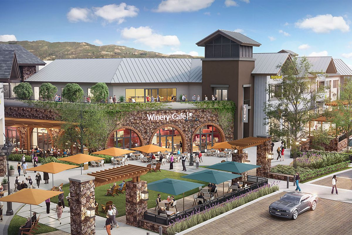 Huge Development With Shopping And Housing Underway In Porter - Los angeles map porter ranch