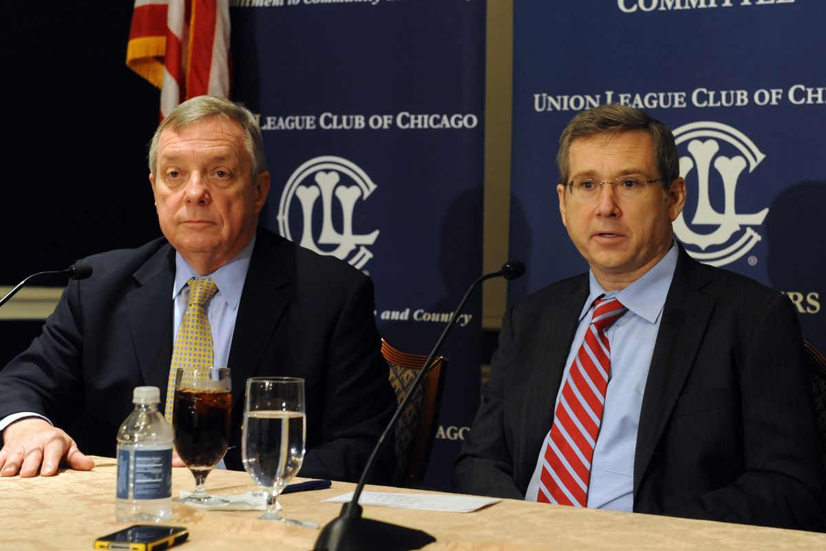Durbin, Kirk, split over 'fast track' for Asia-Pacific trade