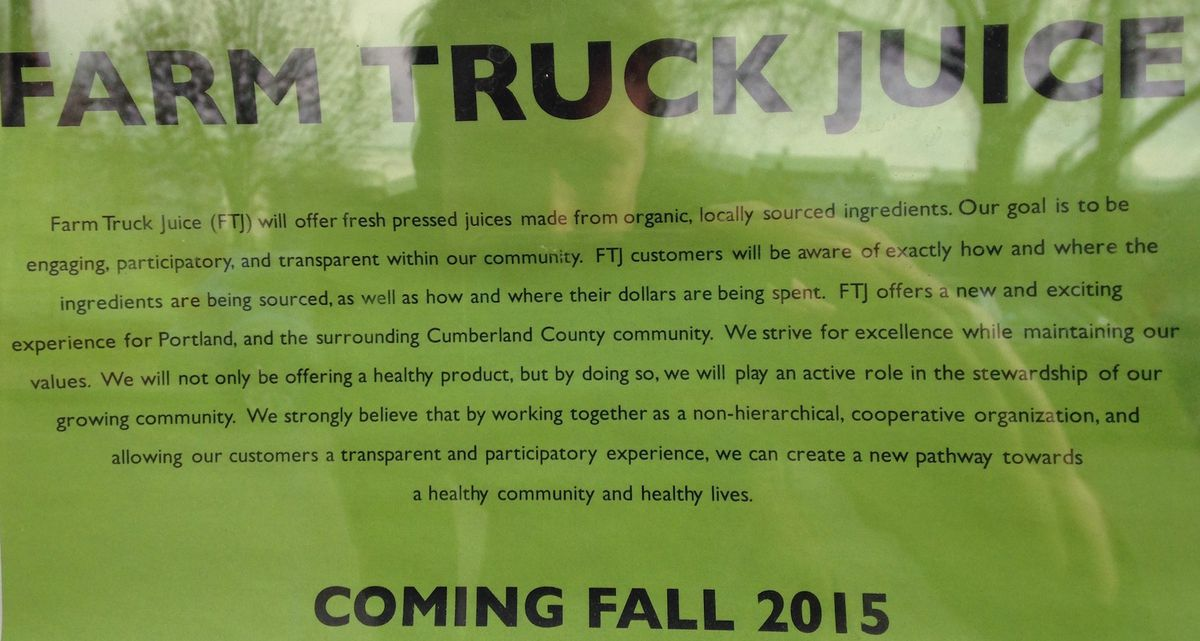 farm truck juice preview poster