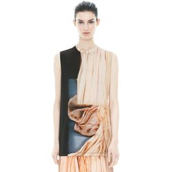 "<b>Acne</b> Zone Merci Print Tank Top, <a href=""http://shop.acnestudios.com/shop/sale/sale-women/tops/zone-merc-prt-pink-dress-off-black.html#product-image-zoom-0"">$102</a> (from $170)"