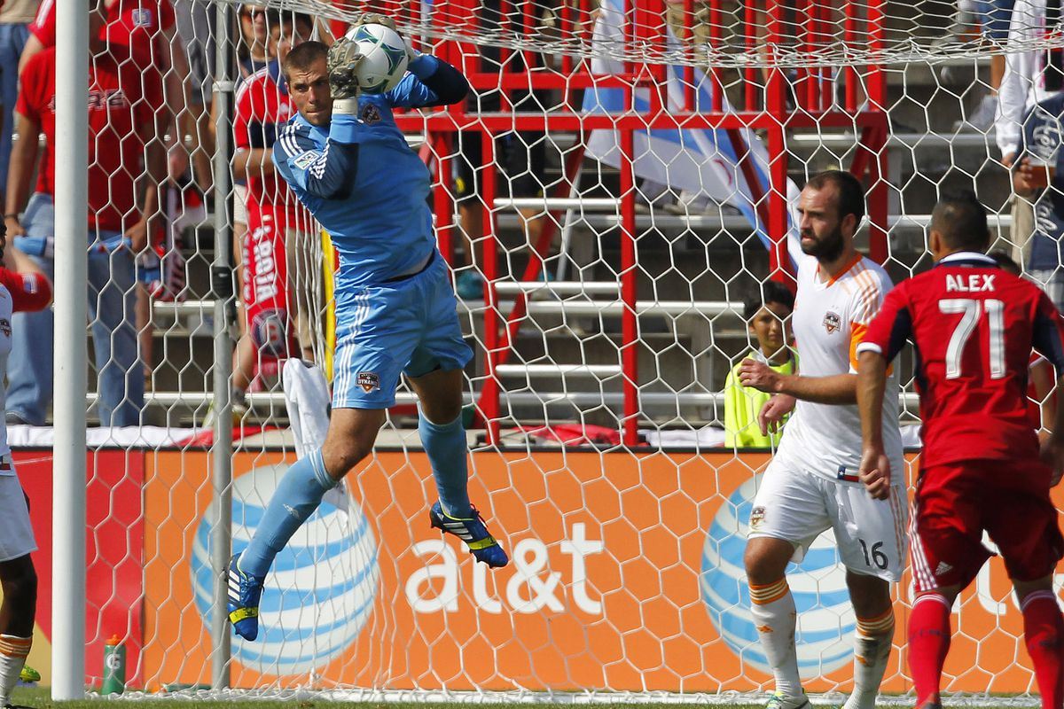 If it weren't for Tally Hall's outstanding first half, you'd be reading about how the Fire absolutely torched the Dynamo. Damn it.