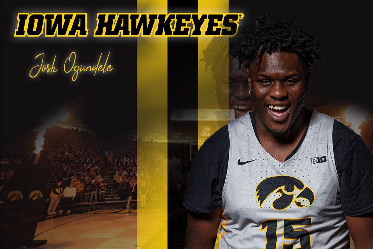 Iowa Basketball Recruiting Commit Profiles Josh Ogundele Black