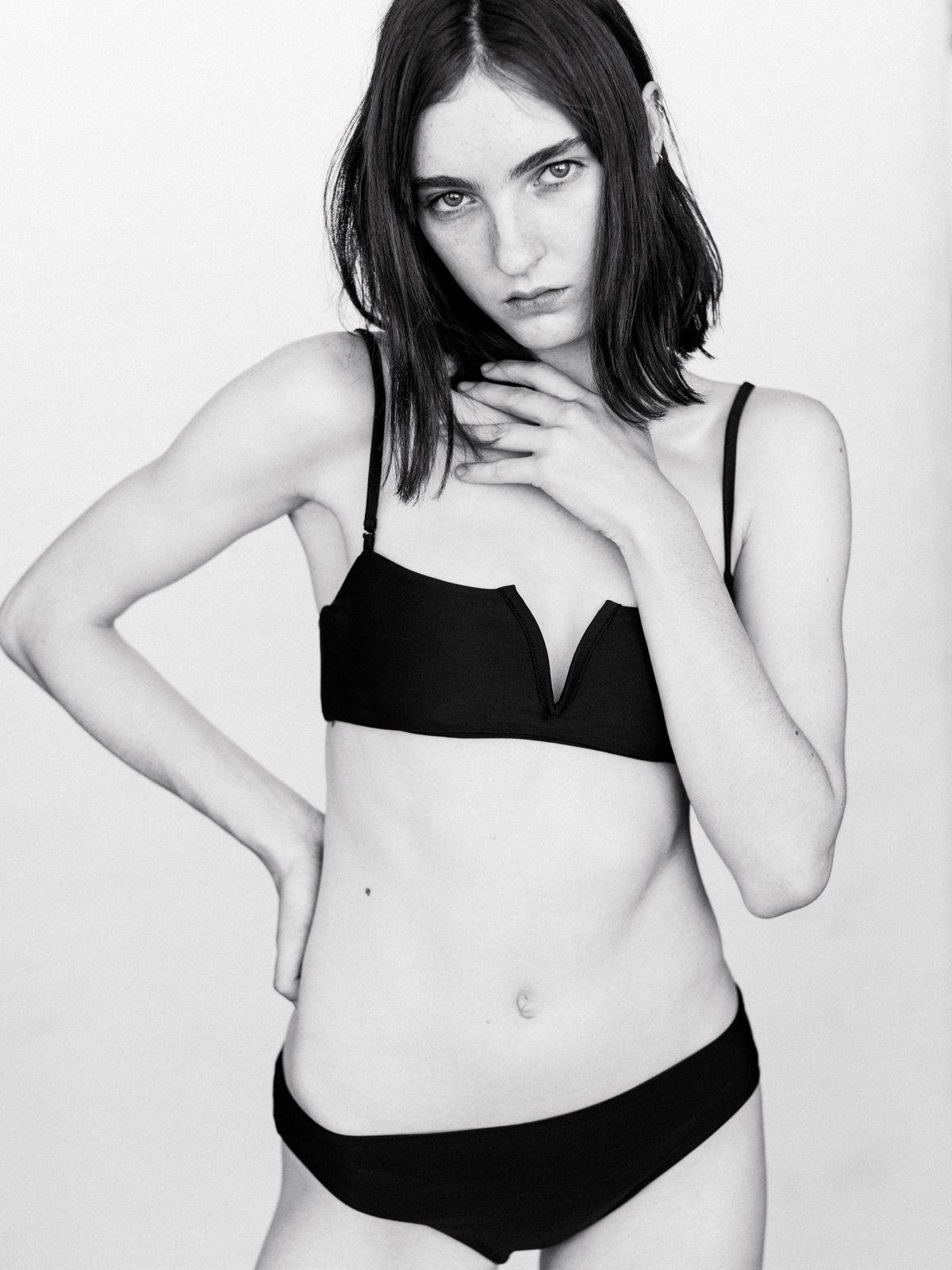 This LA Brand Just Perfected the Little Black Bikini