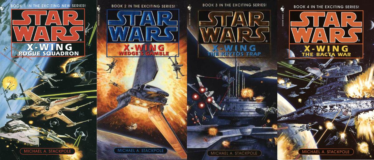 Image result for x-wing novels