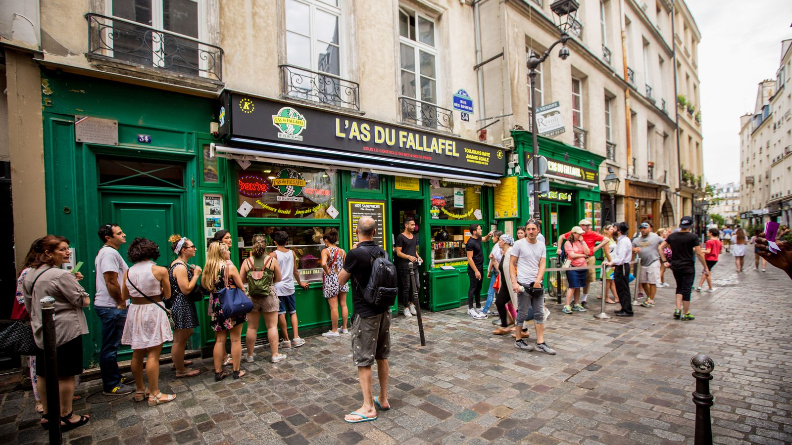 Le Marais is the gay section of Paris and one