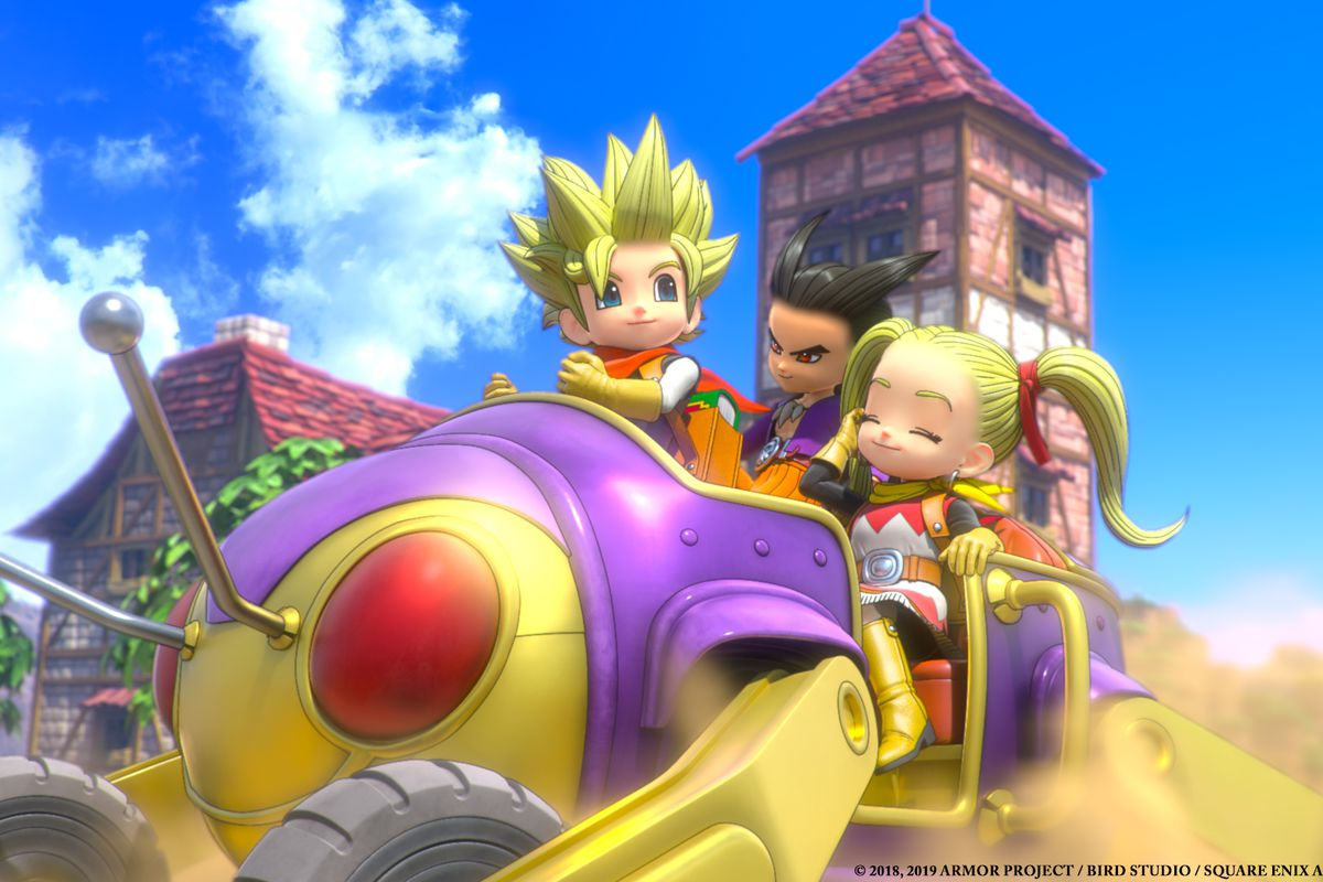 Dragon Quest Builders 2 guide: Tablet Target room recipes